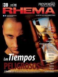 Revista Rhema Junio 2013 - Radio Bethel