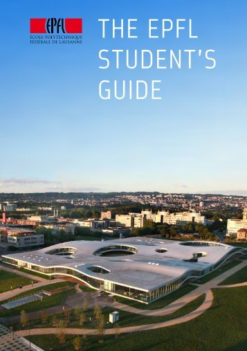 THE EPFL STUDENT'S GUIDE - Master | EPFL