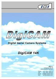Digital Aerial Camera Systems DigiCAM 14K