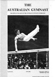 June - Gymnastics Australia