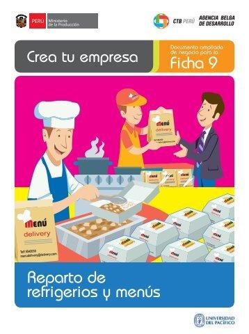 Ficha 9 Reparto de refrigerios y menús - CRECEmype