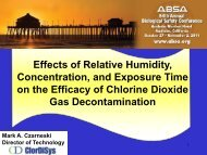 Effects of Relative Humidity, Concentration, and Exposure Time on ...