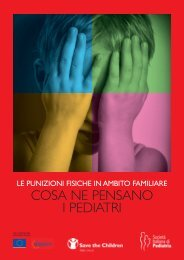 Le punizioni fisiche in ambito familiare - Save the Children Italia Onlus