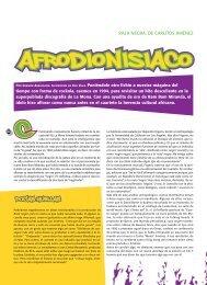 Afrodionisíaco / Germán Arrascaeta - Revista La Central