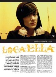 Loca ella / Laura Ospital - Revista La Central