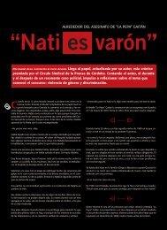 Nati es varón - Revista La Central