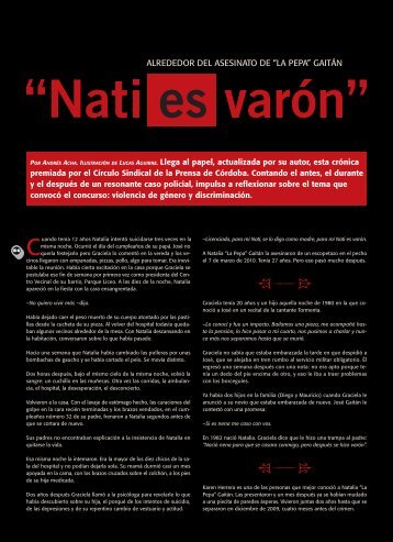 Nati es varón - Revista La Central