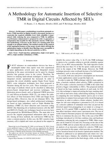 A Methodology for Automatic Insertion of Selective ... - IEEE Xplore