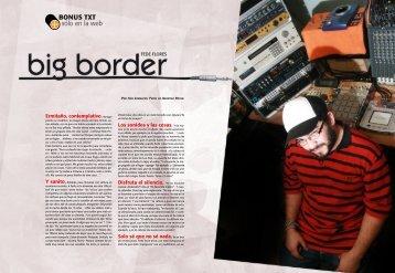 Bonus nota Fede Flores - Revista La Central