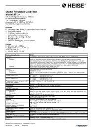 Digital Precision Calibrator Model ST-2H - Ashcroft Instruments GmbH