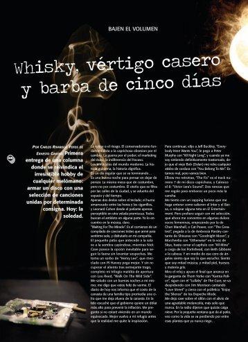 MÚSICA / Whisky, vértigo casero y… - Revista La Central