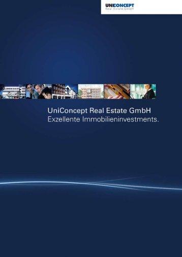 eBook UniConcept downloaden - UniConcept Real Estate GmbH