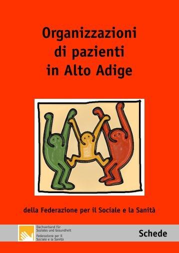Organizzazioni di pazienti in Alto Adige