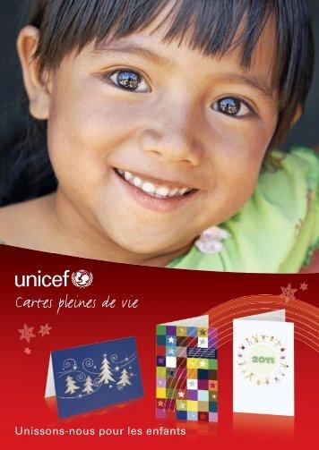 Cartes pleines de vie - Le shop de l'UNICEF Luxembourg