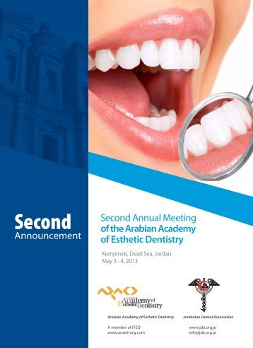Second - ARAED - Arabian Academy of Esthetic Dentistry