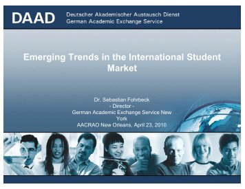 Emerging Trends in the International Student Market - AACRAO