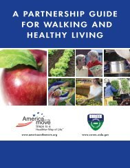 [PDF] A Partnership Guide for Walking and Healthy Living - National ...