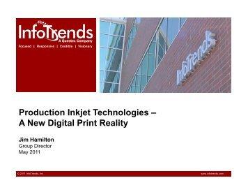 Production Inkjet Technologies – A New Digital Print Reality