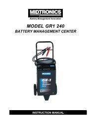 Instruction manual GR1-240 - MICRONIX, spol. s ro