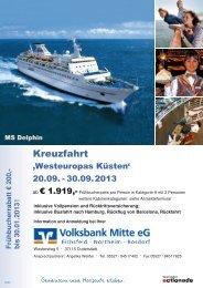 Kreuzfahrt - Volksbank Mitte eG