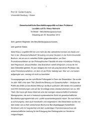 Prof. Dr. Günter Kutscha Universität Duisburg – Essen ... - bei WAP!