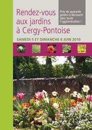 Rendez-vous aux jardins à Cergy-Pontoise - Vallée d'Art