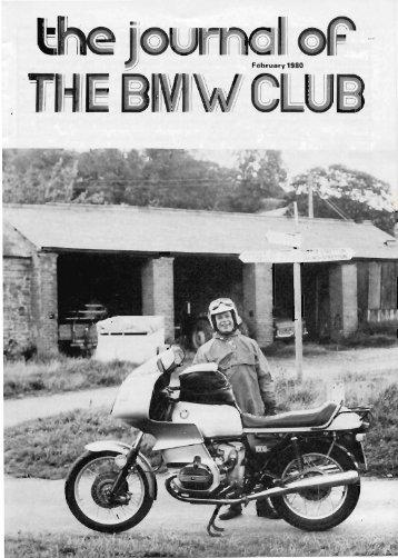 BMW Club Journal February 1980 - Archives - The BMW Club