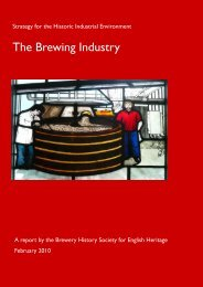 The Brewing Industry - English Heritage