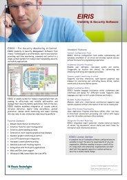 EIRIS Data Sheet (PDF) - Visonic Technologies