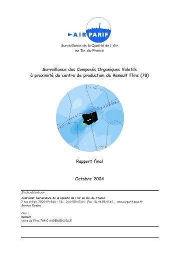 Rapport final - Airparif