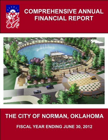 CAFR 2012 - City of Norman