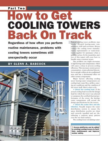 GETTING COOLING TOWERS BACK ON TRACK.pdf - Emerson Swan