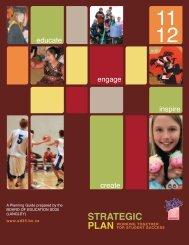 Board of Educa on Strategic Plan - School District #35
