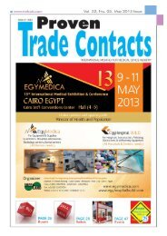 May 2013 - Proven Trade Contacts