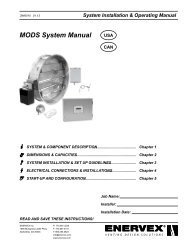MODS System Manual - Enervex