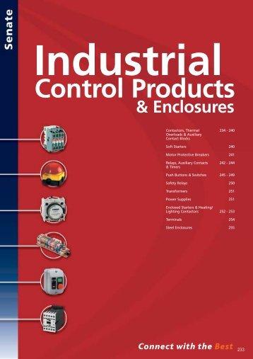 Industrial Control Products & Enclosures - WF Senate