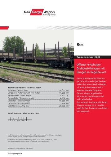 6 free Magazines from RAILCARGOWAGON.AT
