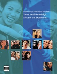 Sexual Health Knowledge, Attitudes and Experiences - The Henry J ...