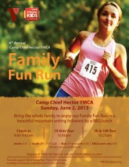 Family Fun Run - YMCA Calgary