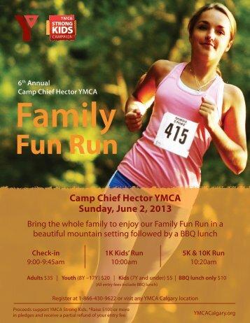 Family Fun Run - YMCA Calgary