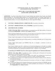 Minuta del Pleno 18-08-05 - Gobierno del Estado de Sinaloa