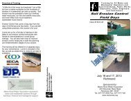 Erosion Control - 1324 A-B - International Erosion Control Association