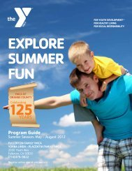 NEW! 2012 Summer Program Guide - YMCA of Orange County