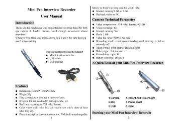 Mini pen interview recorder инструкция