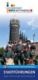 Öffentliche Stadtführungen - Urlaub Lutherstadt Wittenberg
