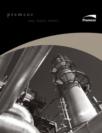 Premcor Annual Report 2003 - Valero