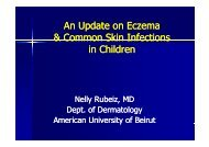 Common Skin Lesions in Infants