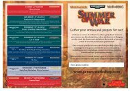 Sow Activity Flyer 2010