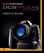 KODAK PROFESSIONAL DCS Pro SLR/c Digital ... - Sensor Cleaning