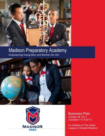 Business Plan - Madison Metropolitan School District